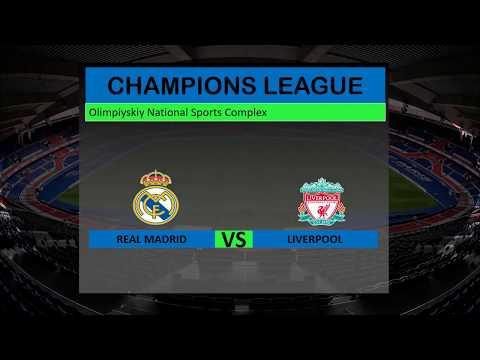 Real Madrid VS Liverpool  & Prediksi Real Madrid VS Liverpool 27 Mei 2018