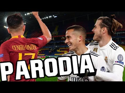 Canción Roma vs Real Madrid 0-2 (Parodia Celoso – Lele Pons) Re-Re-Resubido
