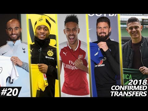 Latest Transfer News 2018 #20 – Confirmed transfers Deadline day Ft. Aubameyang, Moura, Batshuayi…