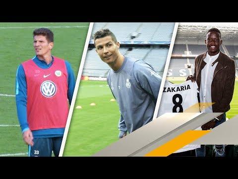 Mario Gomez bleibt in Wolfsburg / Mega-Angebot für Cristiano Ronaldo | SPORT1 TRANSFERMARKT