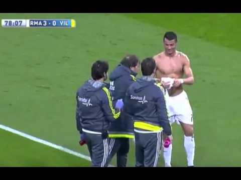 Cristiano Ronaldo Ripped T shirt Real Madrid vs Villarreal 3:0 La Liga 2016