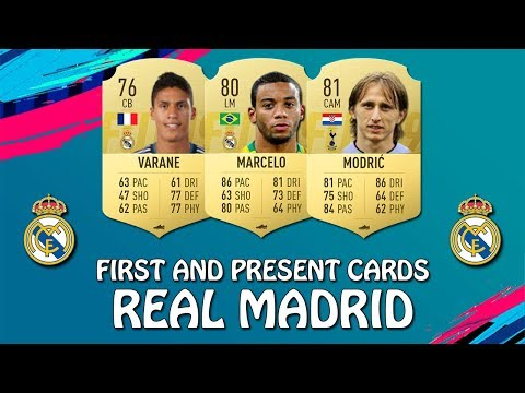 FIFA 19 | REAL MADRID FIRST AND PRESENT CARDS | w/ Modric, Marcelo & Varane