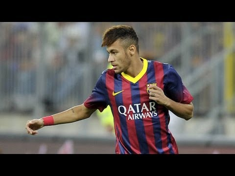 Malaysia XI vs Barcelona  (1-3) All Goals & Highlights 10.08.2013