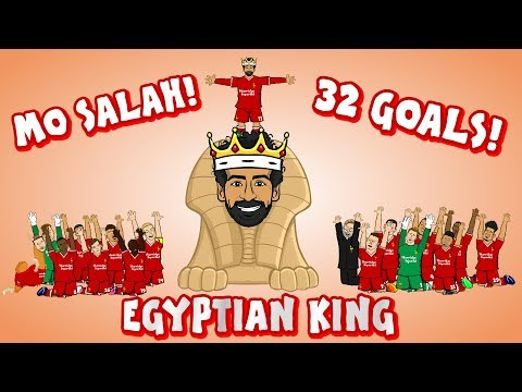 👑MO SALAH – EGYPTIAN KING👑 (All 32 Goals Mohamed Salah song)