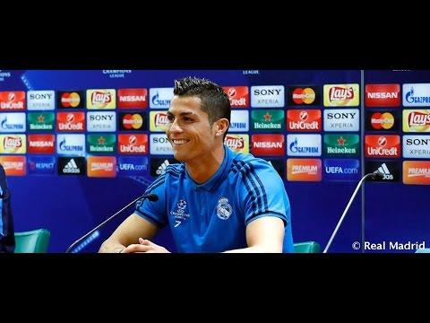 Roma vs Real Madrid: Rueda de prensa de Ronaldo