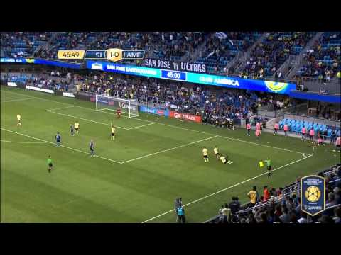 San Jose Earthquakes VS Club America ( ICC 2015 ) [ FULL HIGHLIGHTS ]