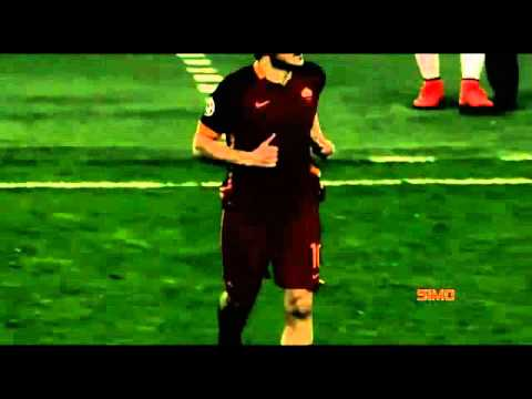 TOTTI standing ovation At The bernabeu ●♤ real madrid vs roma ●♤