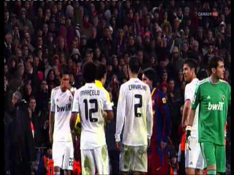 """Barcelona – Real Madid """" broncas del clasico"""" ( el dia despues 2010 )"""