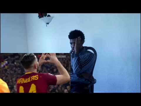 Real madrid fan React to Barcelona vs Roma (3-0)