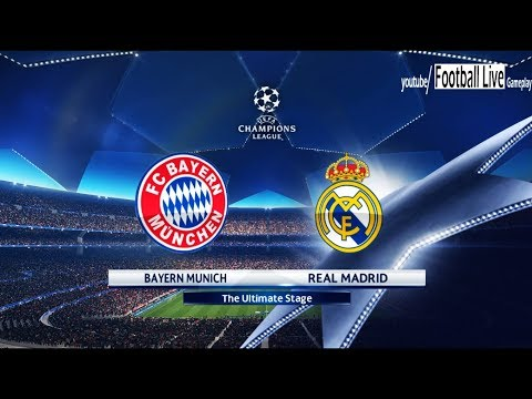 PES 2018 | Bayern Munich vs Real Madrid | UEFA Champions League (UCL) | Gameplay PC
