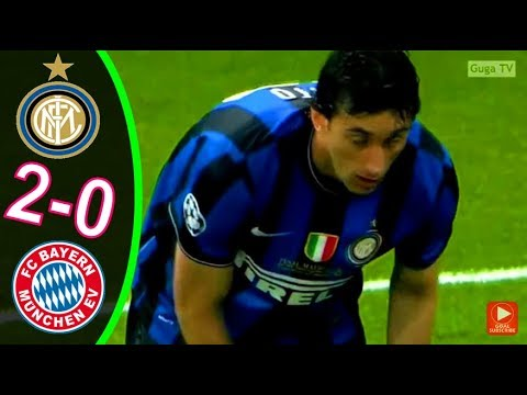Inter Milan vs Bayern Munich 2-0 – UCL Final 2010