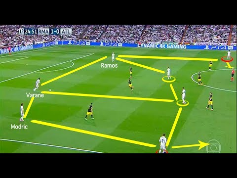 Real Madrid Tiki Taka Show & Best Combinations ► 2017/2018 ● Zidane System Tatic ● Team Work
