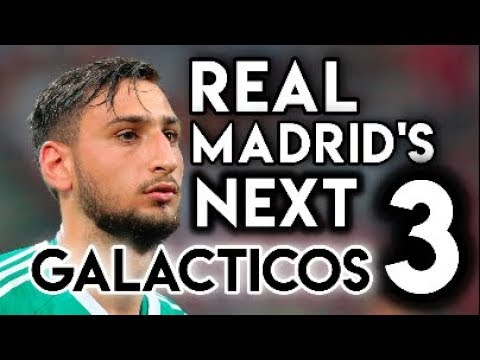 Real Madrid's Next 3 GALACTICOS – According to Football Manager 2018