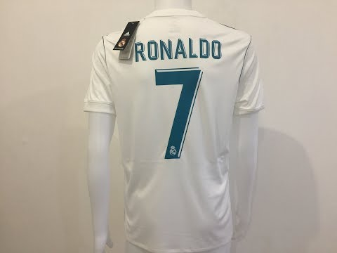 2017 18 Real Madrid Home soccer jersey Ronaldo #7 player jersey