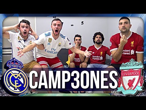 CAMPEONES!!! REAL MADRID 3-1 LIVERPOOL | LIVE REACTION HD FINALE CHAMPIONS LEAGUE