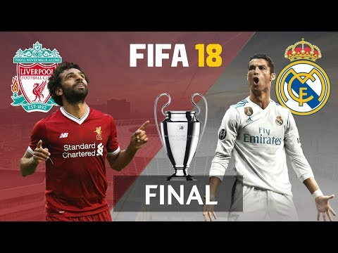 FIFA 18 | Real Madrid vs Liverpool Highlights (PS4) | UEFA Champions League Final 2018