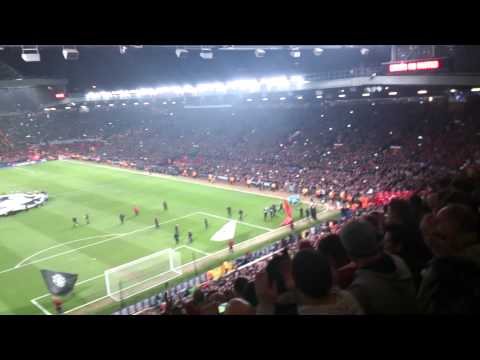 Man United vs Real Madrid best atmosphere ever