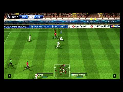 Real Madrid – Manchester City (Pes 2013 wii gameplay) HD