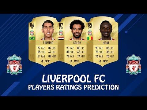 FIFA 19 | LIVERPOOL FC PLAYERS RATINGS PREDICTION | w/ Salah, Firmino & Mane