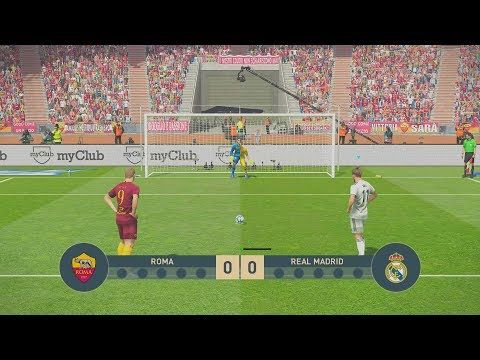 ROMA vs REAL MADRID | UEFA Champions League – UCL | Penalty Shootout