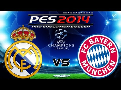 PES 2014 UEFA Champions League FC Real Madrid vs FC Bayern München Full HD