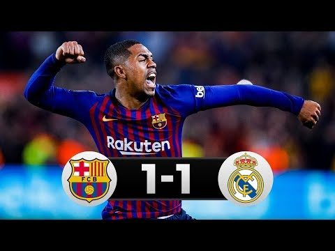 Barcelona vs Real Madrid 1-1 All Goals & Highlights (06/02/2019) HD
