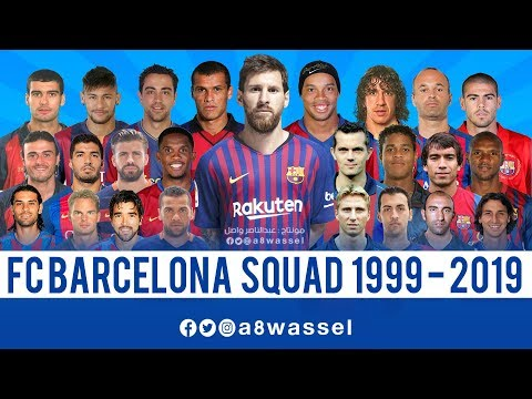 Barcelona Squad – from 1999 to 2019 HD
