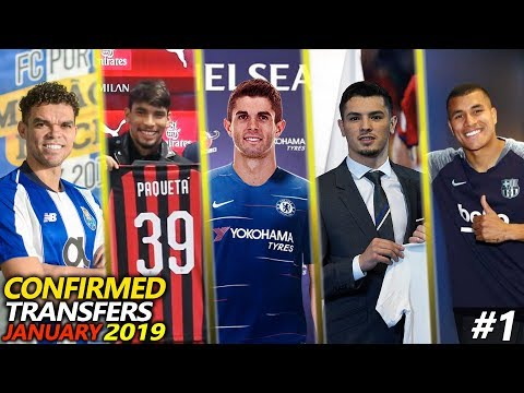 30 CONFIRMED TRANSFER JANUARY 2019 FT. PULISIC, PAQUETA, DIAZ, MURILLO, PEPE…