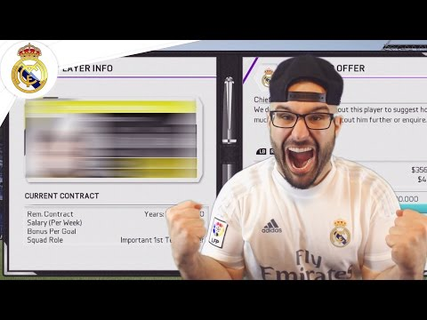 THREE MASSIVE REAL MADRID SIGNINGS! – Real Madrid Career Mode FIFA 16 #04