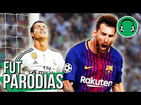 ♫ 3×0 – REAL MADRID APANHA DO BARCELONA EM CASA | Paródia Wrecking Ball – Miley Cyrus