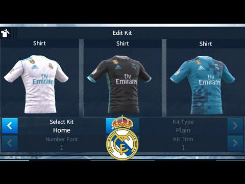 [แจกชุดเกมส์ดรีมลีก] เรอัล มาดริด 2017/18 | Real Madrid Kits 2017/18