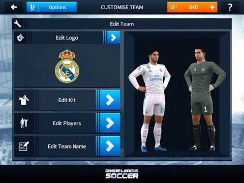 How to get Real Madrid kits and logo in Dream League Soccer 2018 /19