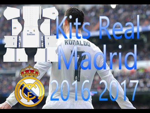 Kits Real Madrid 2016/17 Dream League Soccer 16