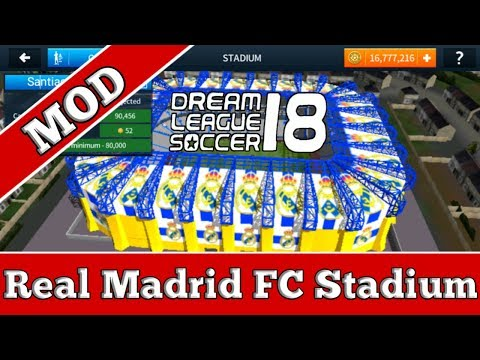 How to customize the stadium of Dream League Soccer 2018 (Real Madrid Stadium)
