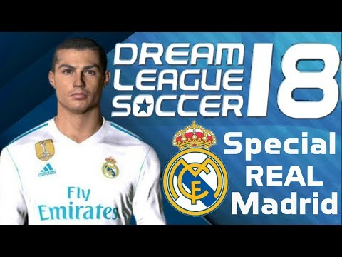 Cara instal Dream league Soccer 18 mod Real Madrid | Unlimited money | Tutorial Game Indonesia