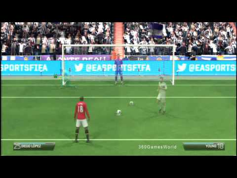 Fifa 14: Real Madrid Vs Manchester United PENALTY SHOOTOUT (HD)