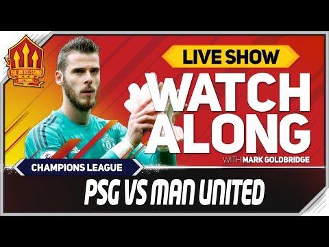 PSG vs Manchester United LIVE Match Chat