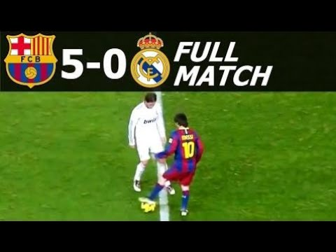 FC Barcelona vs Real Madrid 5-0 Full Match 2010-11 HD 720p (English Commentary)