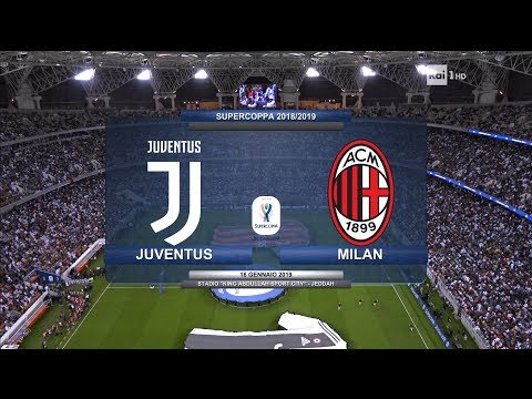 Juventus vs AC Milan ● Full Match HD ● 🏆 Supercoppa 2018 🔊 English Commentray