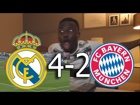 Real Madrid vs Bayern Munich 4-2 – All Goals & Highlights:Barcelona Fan Live Reactions
