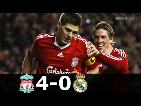 Liverpool vs Real Madrid 4-0 – UCL 2008/2009 – Highlights (English Commentary)