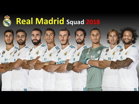 Real Madrid Full Squad 2018 | Real Madrid Squad After January(Winter) Transfer 2018 ⚽ FIFA Updates