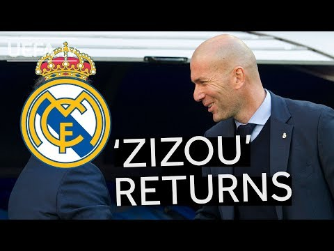 ZIDANE RETURNS TO REAL MADRID: Relive his full half-time teamtalk in the 2017 #UCL final!!