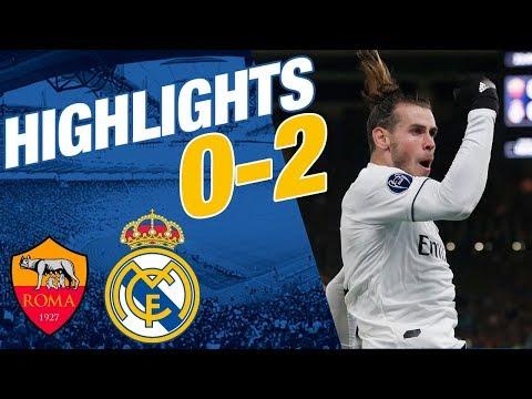 GOALS & HIGHLIGHTS | Roma vs Real Madrid | 0-2