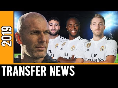 Zinedine Zidane's and Real Madrid TOP 10 Transfer Targets Summer 2019