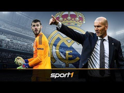 Zinedine Zidane will de Gea zu Real Madrid locken | SPORT1 – TRANSFERMARKT