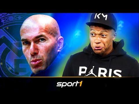 Nach Zidane-Comeback: Führt Mbappe Real Madrid ins neue Zeitalter? | SPORT1 – TRANSFERMARKT-SHOW
