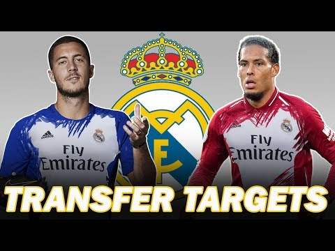 10 Real Madrid Transfer Summer Targets 2019