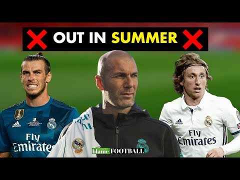 5 Players Zidane Could Sell At Real Madrid In Summer Transfer Window