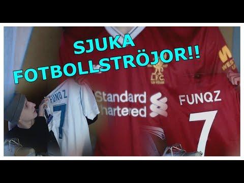 SJUKA FOTBOLLSTRÖJOR!!! – GoalJerseys.co – UNBOXING